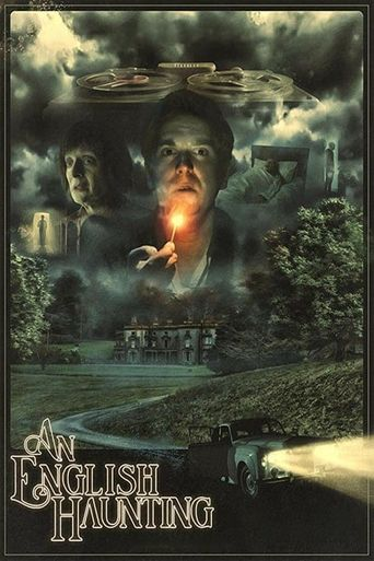 An English Haunting Poster