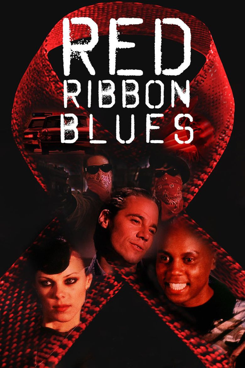 Red Ribbon Blues Poster