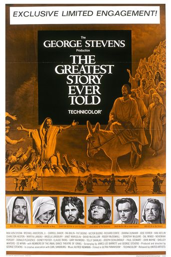 The Greatest Story Ever Told Poster