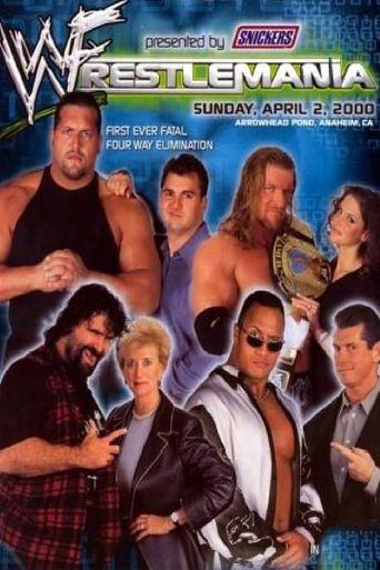 WWE WrestleMania 2000 Poster