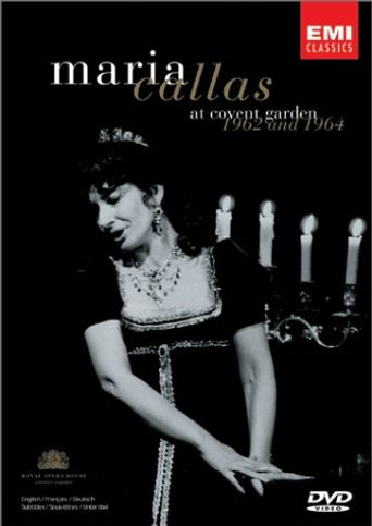 Maria Callas At Covent Garden, 1962 and 1964 Poster
