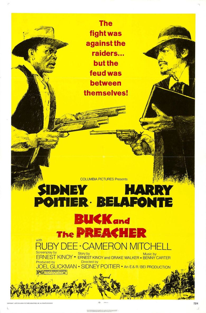 Buck and the Preacher Poster