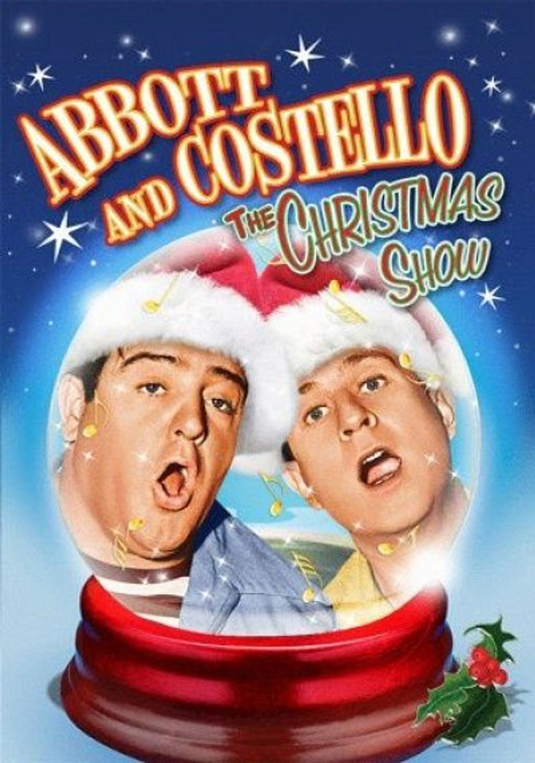 Abbott and Costello Christmas Show Poster