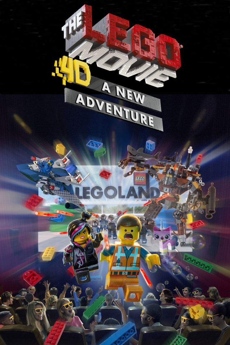 The LEGO Movie 4D: A New Adventure Poster