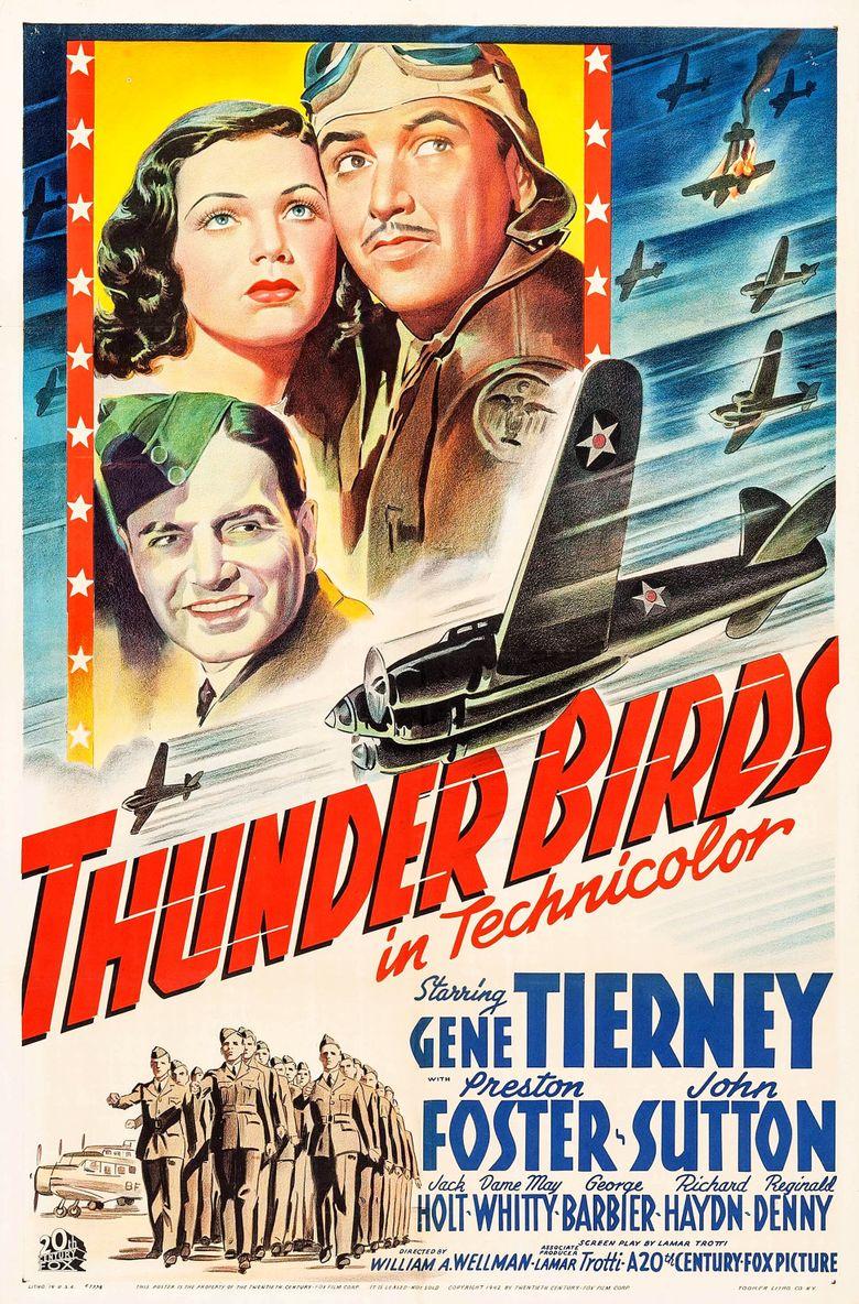 Thunder Birds Poster