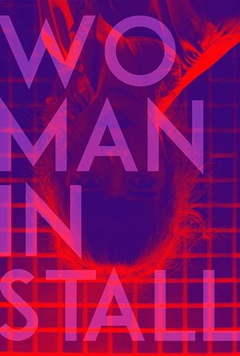 Woman in Stall Poster