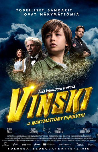 Vinski and the Invisibility Powder Poster