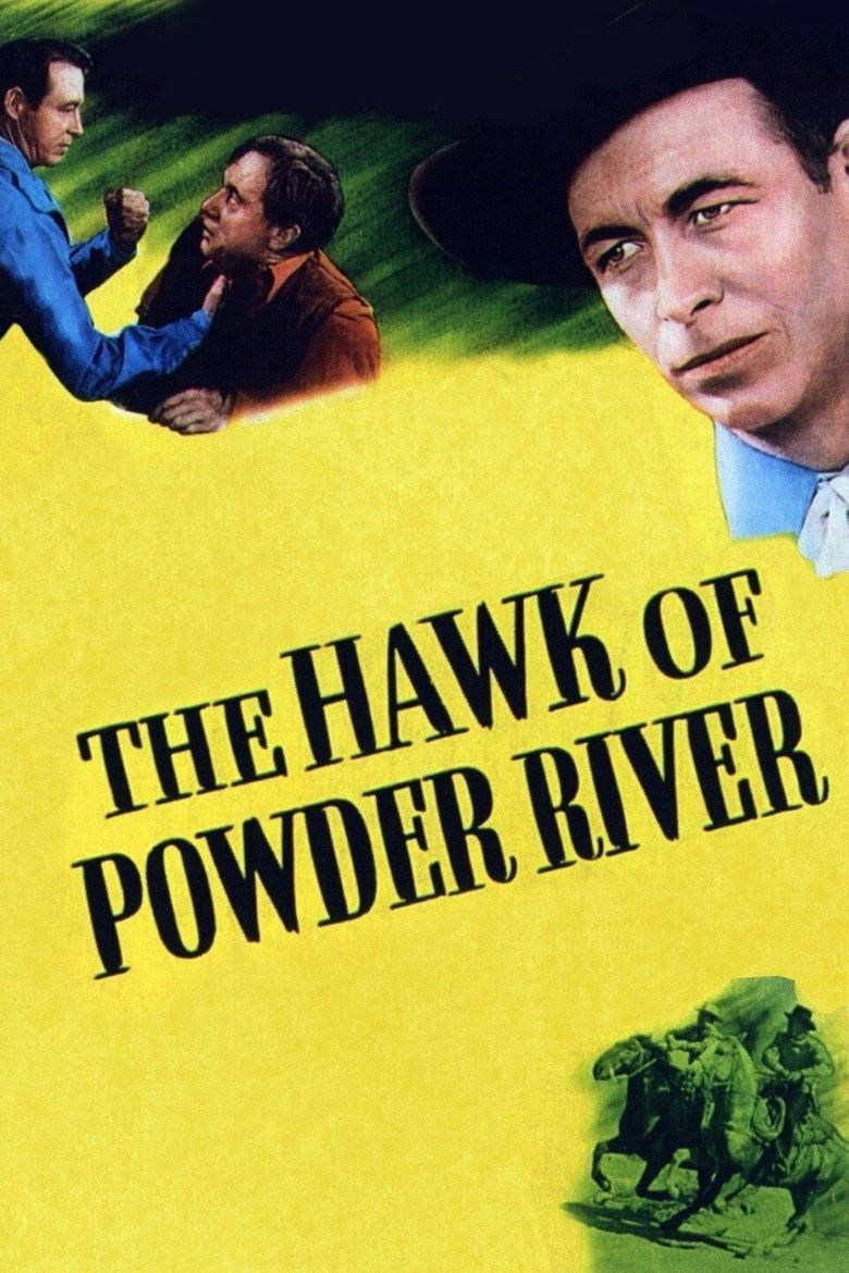 The Hawk of Powder River Poster