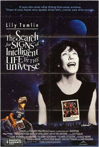 The Search for Signs of Intelligent Life in the Universe Poster
