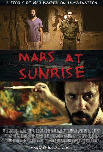 Mars at Sunrise Poster