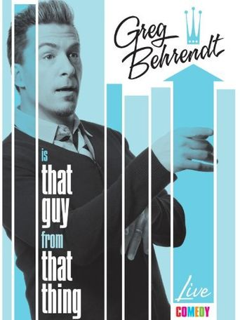 Greg Behrendt is That Guy from That Thing Poster