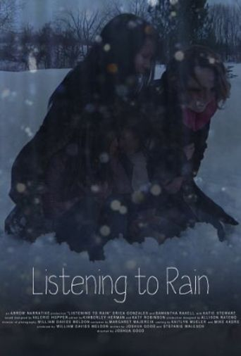 Listening to Rain Poster