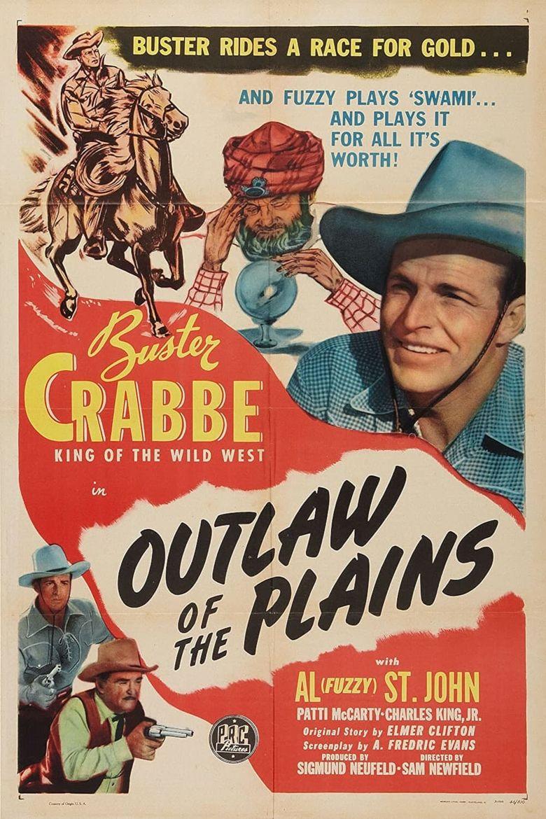 Outlaws of the Plains Poster