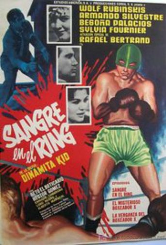 Sangre en el ring Poster
