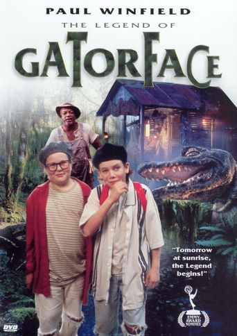 The Legend of Gator Face Poster