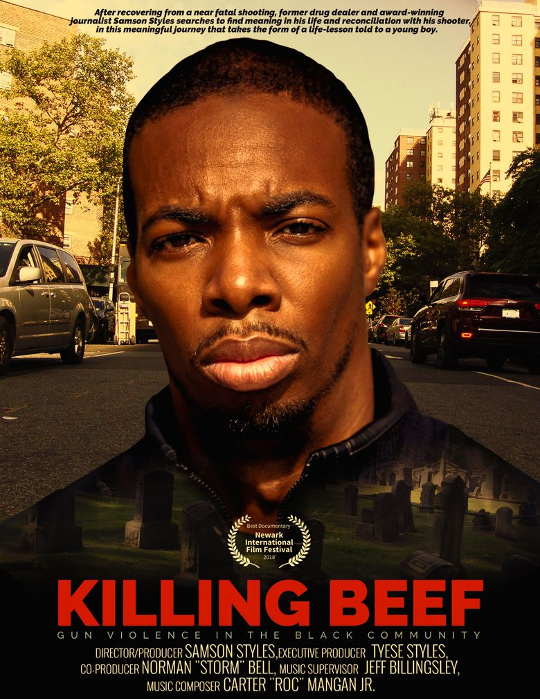 KILLING BEEF 'Gun Violence In The Black Community' Poster