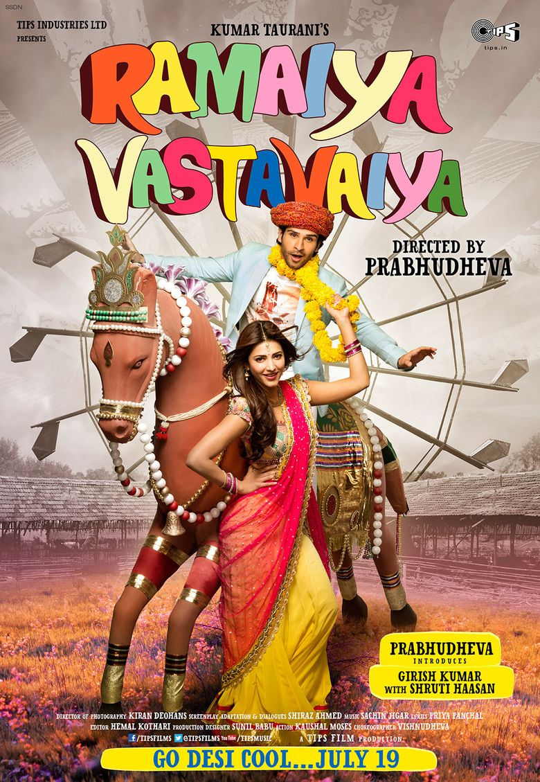 Ramaiya Vastavaiya Poster