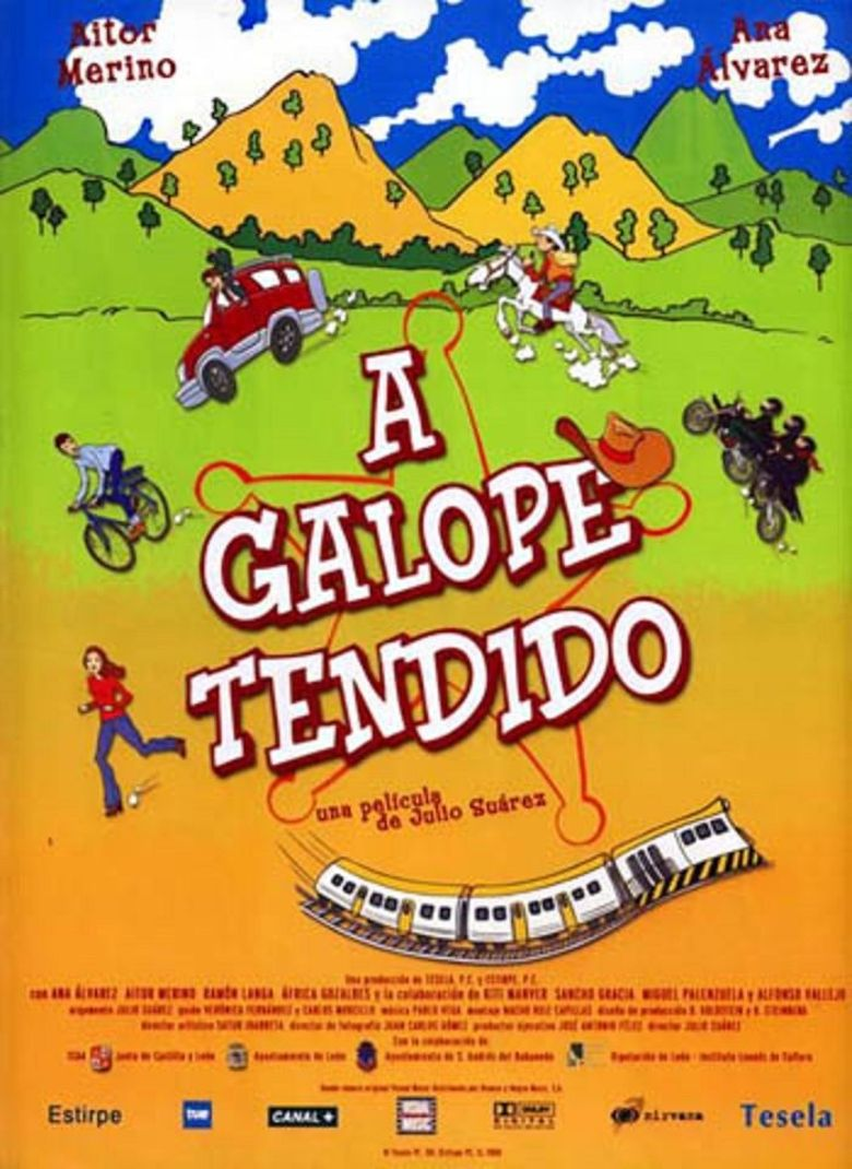 At Full Gallop Poster