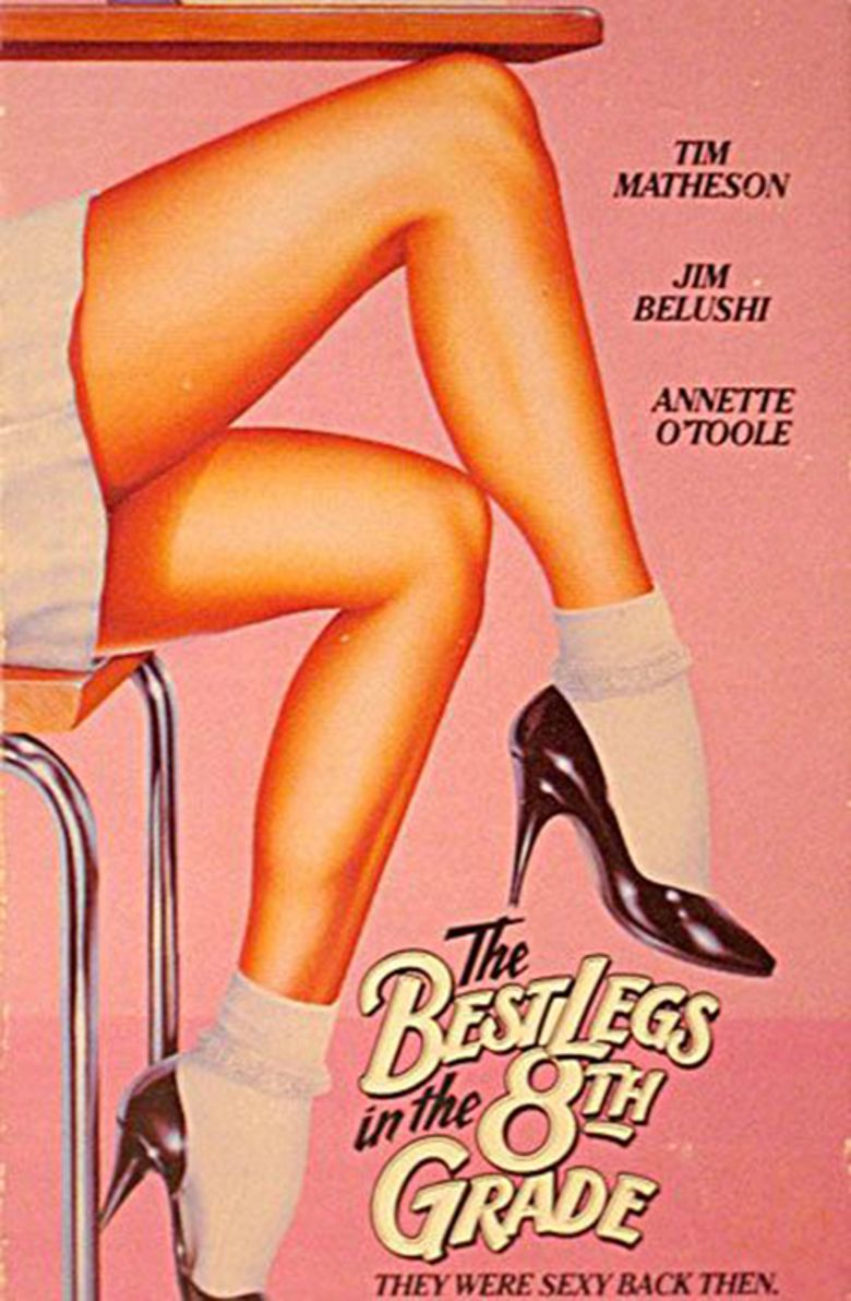 The Best Legs in Eighth Grade Poster