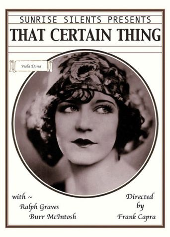 That Certain Thing Poster