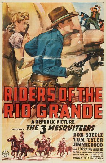 Riders of the Rio Grande Poster