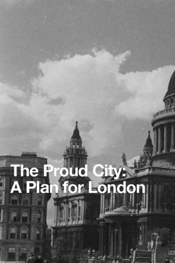 The Proud City: A Plan for London Poster