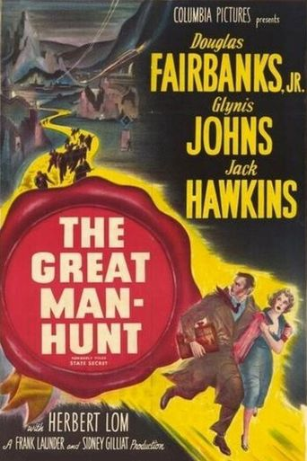 The Great Manhunt Poster