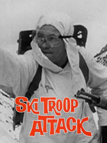 Ski Troop Attack Poster