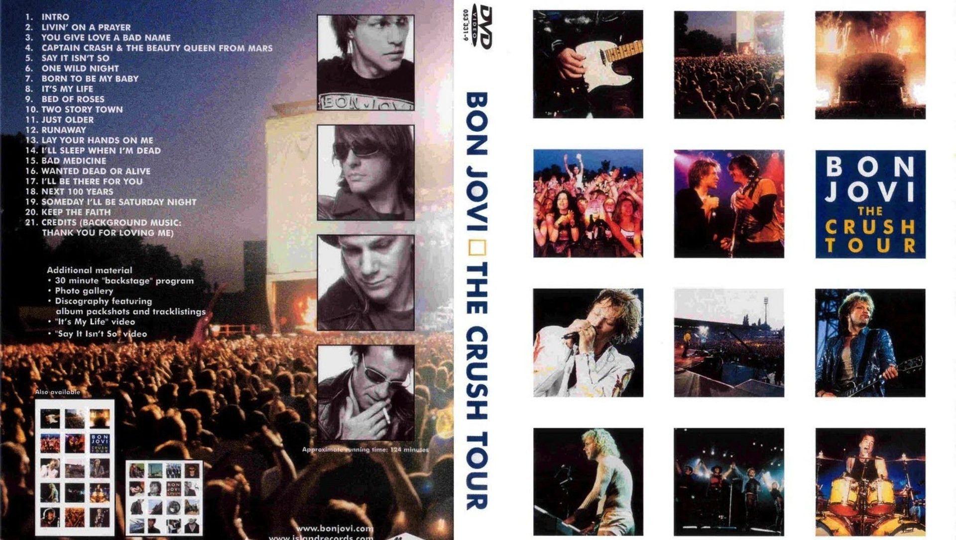 Bon Jovi: The Crush Tour (2000) - Where to Watch It