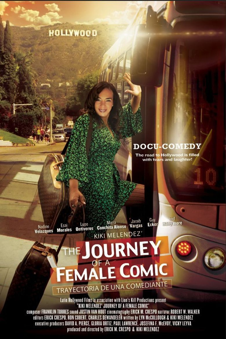 Journey of a Female Comic Poster