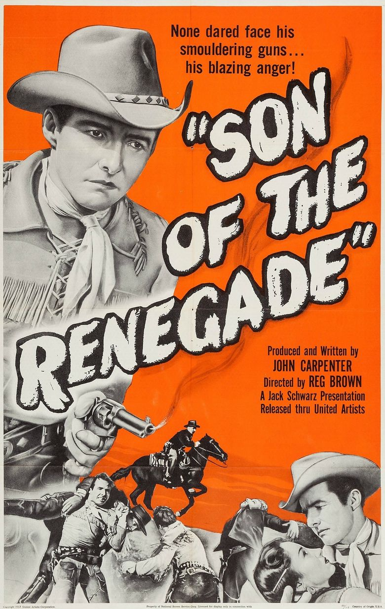 Son Of The Renegade Poster