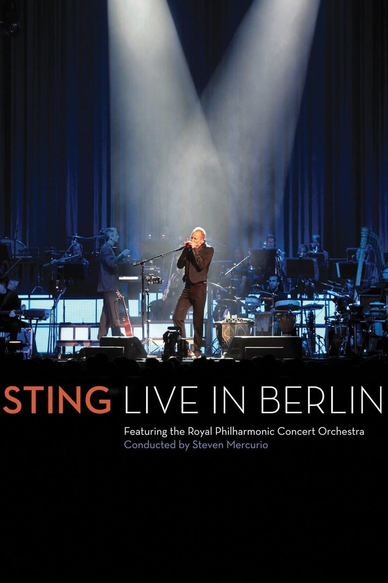 Sting: Live In Berlin Poster
