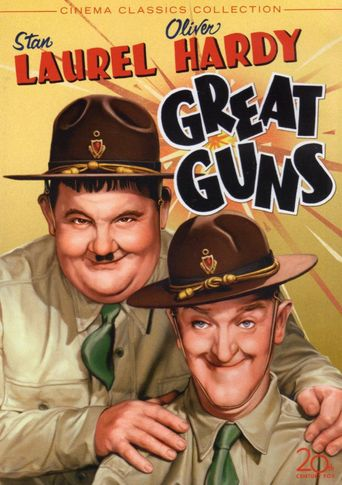 Great Guns Poster