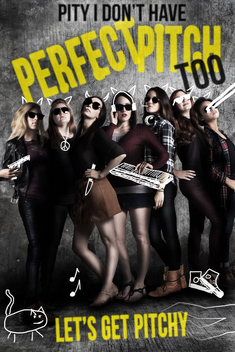 Pity I Don't Have Perfect Pitch Too Poster