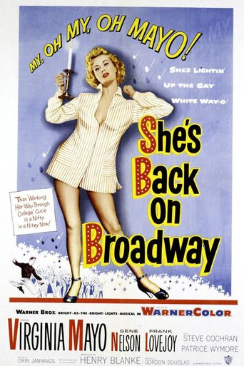 She's Back on Broadway Poster