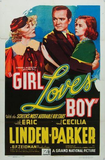 Girl Loves Boy Poster