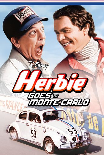 Herbie Goes To Monte Carlo Poster