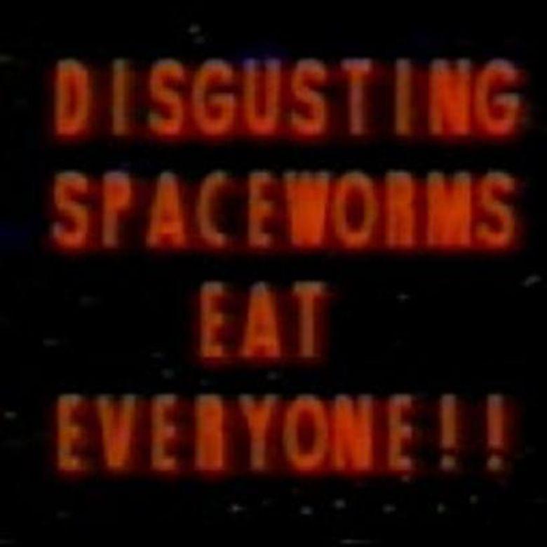 Disgusting Spaceworms Eat Everyone!! Poster