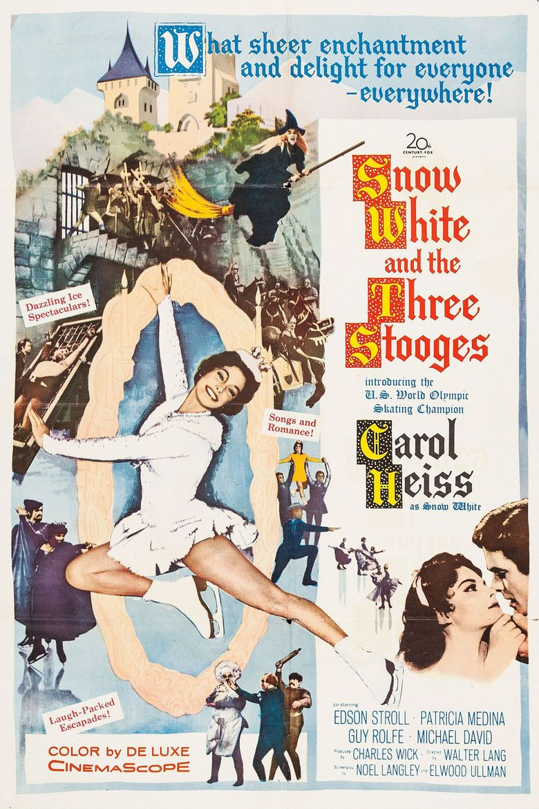 Snow White and the Three Stooges Poster