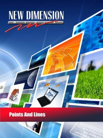 Points and Lines Poster