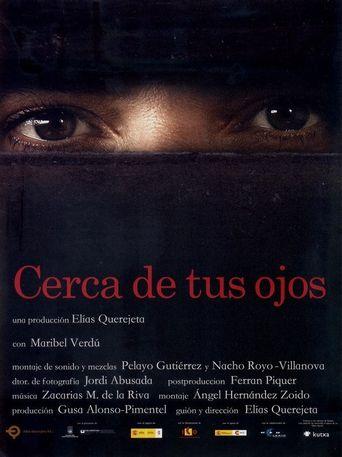 Cerca de tus ojos Poster