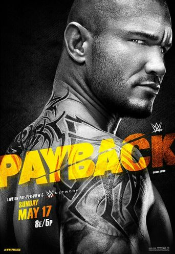 WWE Payback 2015 Poster