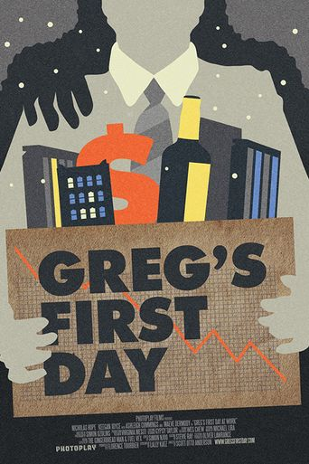 Greg's First Day Poster