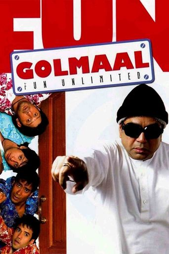 Golmaal - Fun Unlimited Poster