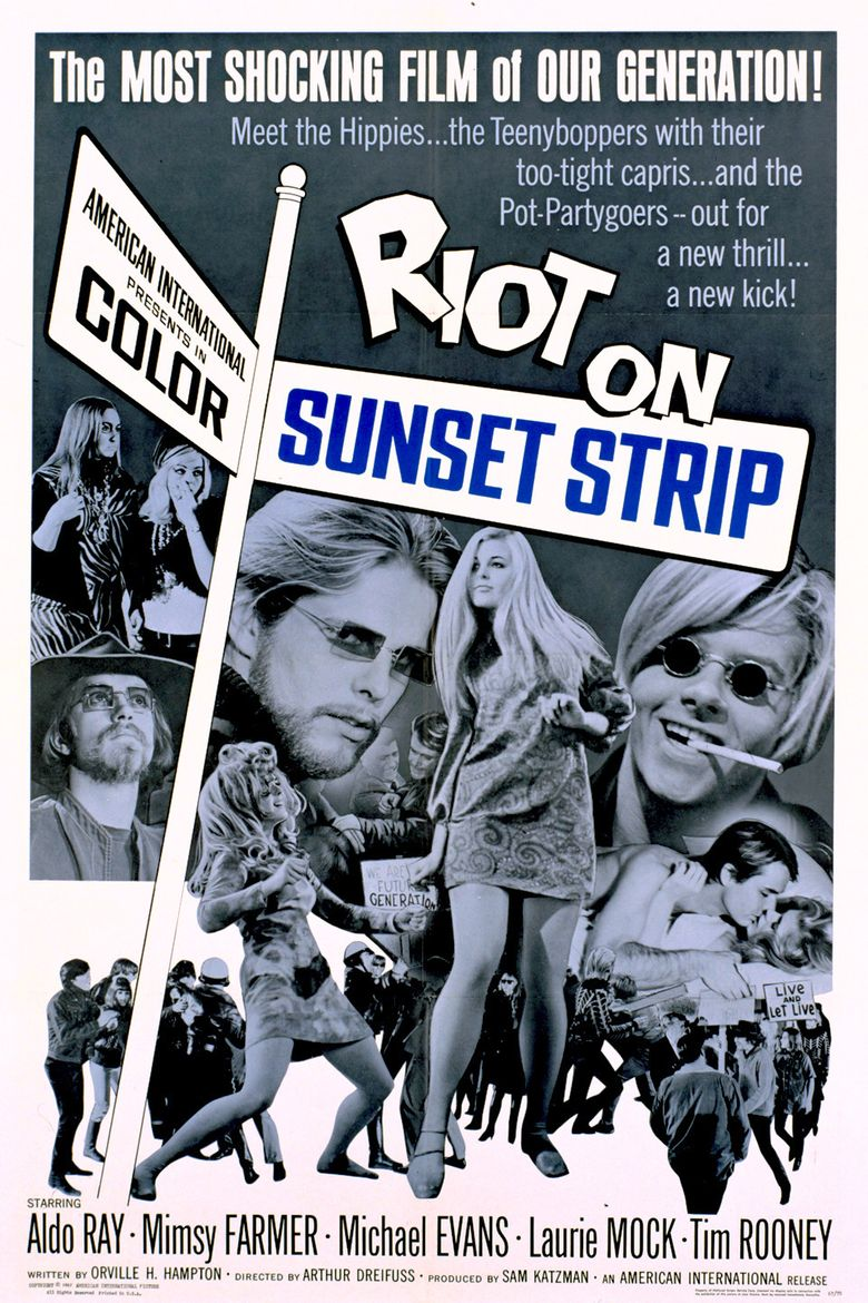 Riot on Sunset Strip Poster