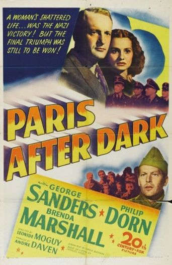 Paris After Dark Poster