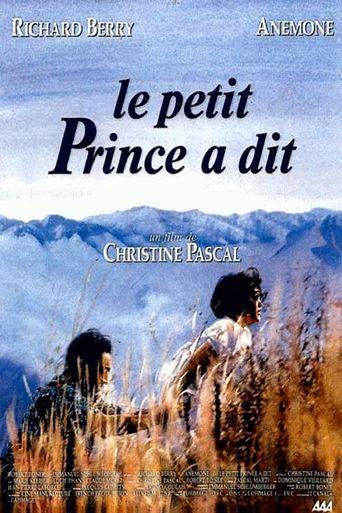 Le petit prince a dit Poster