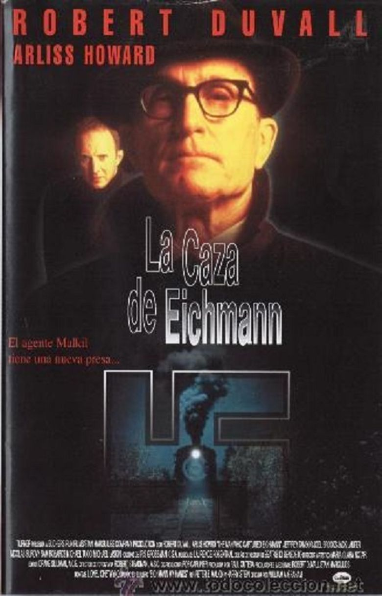 The Man Who Captured Eichmann Poster