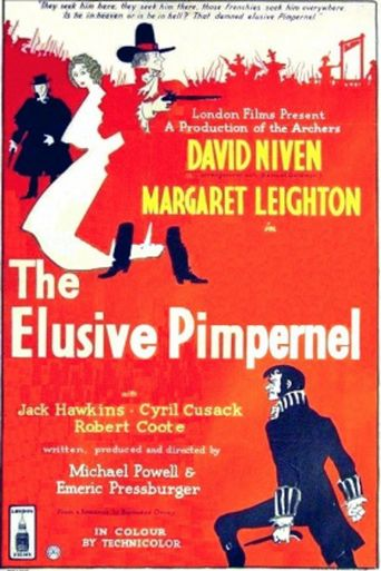 The Elusive Pimpernel Poster
