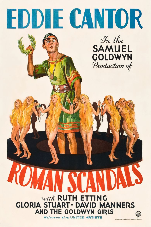 Roman Scandals Poster